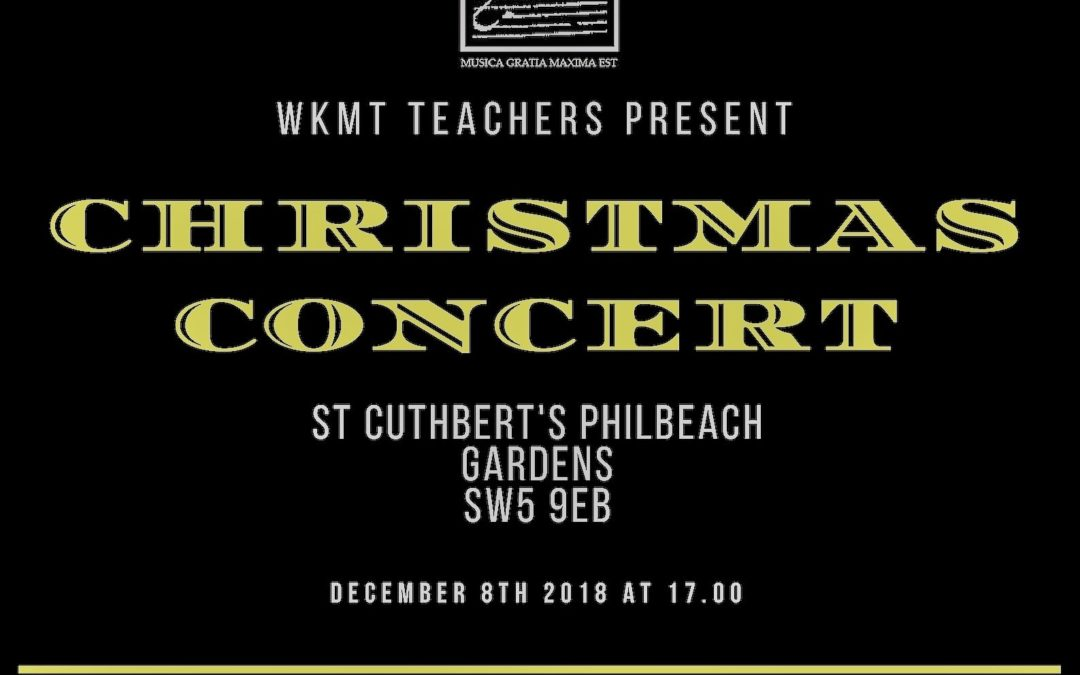 Our Teachers' Next Concert
