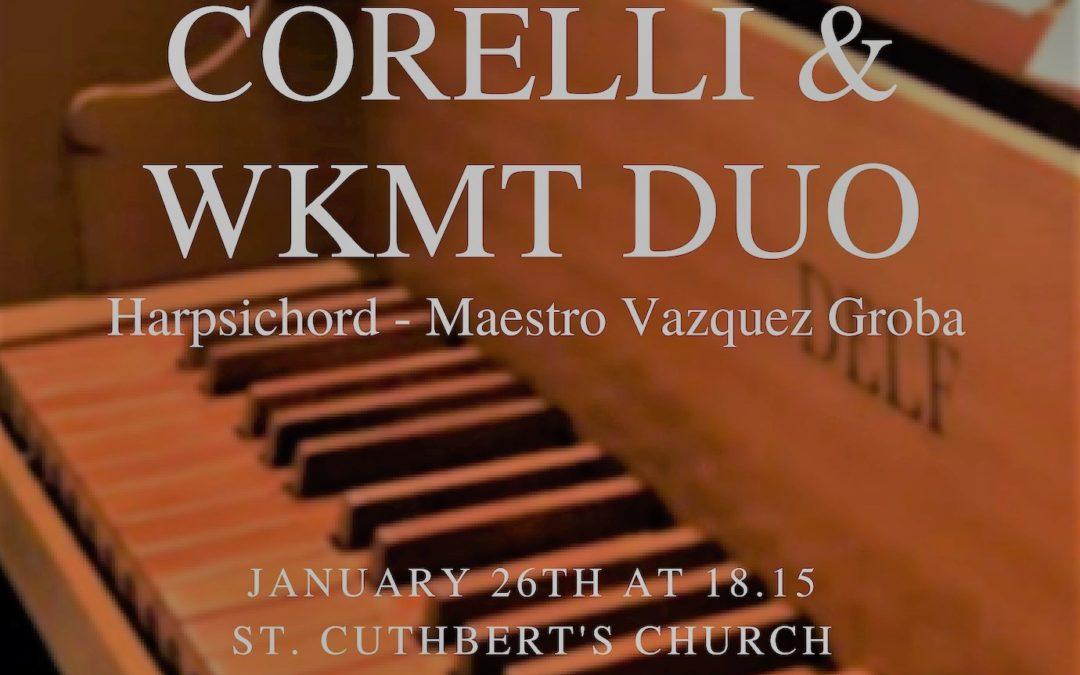 Concert in St. Cuthbert's church, London
