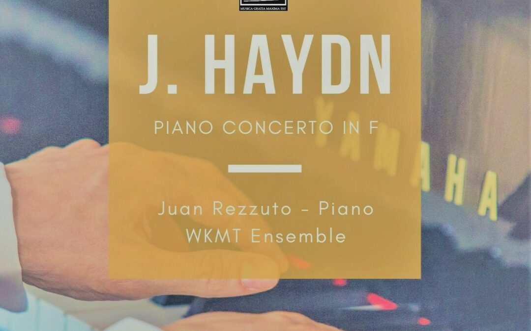 Getting ready for Haydn piano concert